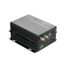 HD SDI Video Fiber Optical Media Converters Transmitter Recevier with 1080P HDMI