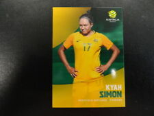 2017/18 TAP'N'PLAY A-LEAGUE CARD NO.038 KYAH SIMON WESTFIELD MATILDAS