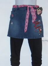 """Bobby Jack Girls """"Don't Burst My Bubble"""" Denim Mini Skirt + Capri Leggings 14"""