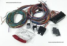 20 Circuit Wiring Harness Street Rod Rat Rod Custom Classic Cars Hot Rods