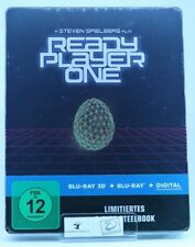 Ready Player One 3D Steelbook (exklusiv bei Amazone) [3D Blu-ray] [Limited Edi