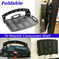 UK Wall Mount Set Top Box Stand Bracket DVD/TV Foldable Router Holder for TV Box
