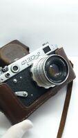 FED 2 35mm Film Camera INDUSTAR 26M 2,8/53 Lens M39 mount  Leica copy USSR