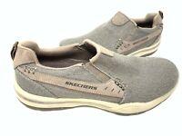 Skechers Men/'s MOOGEN ORADO Slip On Loafers Brown #65441 186J tk NEW