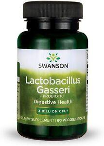 SWANSON Lactobacillus Gasseri PROBIOTIC DIGESTIVE HEALTH FAT METABOLISM SATIETY