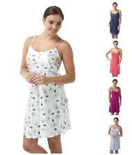 Ladies Womens Chemise Nightwear Nightie Lingerie Pj's Nightdress 8-22