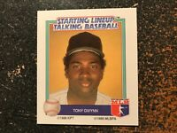 Tony Gwynn Padres 1988 Kenner Starting Lineup Talking Baseball CARD ONLY