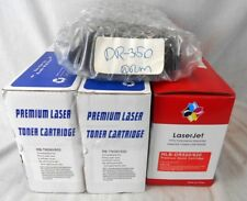 Lot of Toner Cartridges & Drums for Brother Printers: TN-580, DR-520 & DR-350