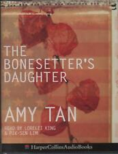 THE BONESETTER'S DAUGHTER by Amy Tan ~ Two-Cassette Audiobook