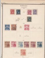Honduras 1895 Stamps on page Ref 15567