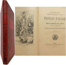 Français d'Alsace 1907 Guerrier de Haupt littérature jeunesse illustrée Picard