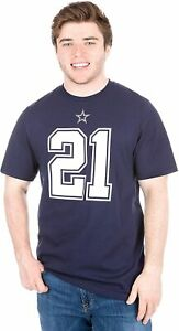 Ezekiel Elliott Dallas Cowboys #21 Men's Player Cotton T-Shirt