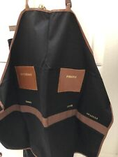 Novelty, BBQ Apron  canvas w leather pockets for your special grill master