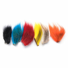 BUCKTAIL COMBO PACK - Fly Tying Deer Tail Fishing Lure Jig Material - 6 Colors!