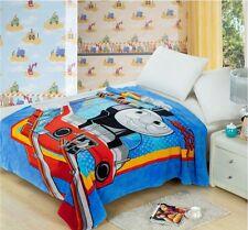 "Cute Thomas and Friends Soft Warm Silky Flannel Blanket Throw Bedding 79""x59"""