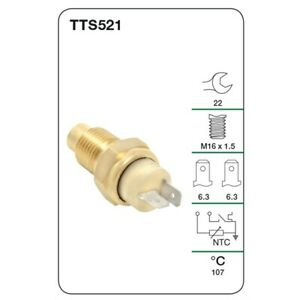 Tridon Water Temp Switch (Warning Light & Gauge) TTS521 fits Fiat Ducato 2.3 ...