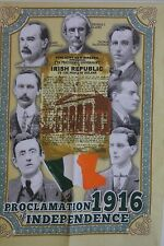 1916 Leaders & The Proclamation of Irish Independence 100% COTTON TEA TOWEL