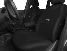 2 Frontal Negro Calidad Protectores de cubiertas de asiento de coche para Mini Escotilla One