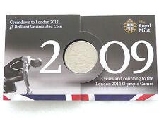 2009 Royal excellent état London 2012 Jeux Olympiques Countdown BU cinq Livre