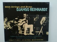 DJANGO REINHARDT - With Strings and Brass - 1937/1953 - 2 CDs