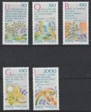 Vaticaan postfris 1986 MNH 889-893 - Jaar van de Vrede