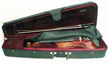 Vintage 3/4 Ernst Kreusler violin outfit
