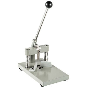 New Style All Metal Heavy Duty Corner Rounder Punch Cutter + 2 Blades R6/R10 US
