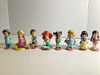 Disney Princess Animators Doll Figure lot 8 PCS