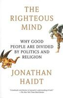 THE RIGHTEOUS MIND - HAIDT, JONATHAN - NEW PAPERBACK BOOK