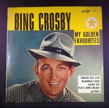 Bing Crosby - My Golden Favourites - LP Vinyl - Australia - 1971 - MCA