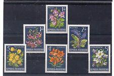 Austria Flores Serie del año 1966 (DA-684)