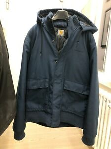 Giacca Carhartt Ranger Giubbotto Bomber vintage taglia L colore Blu Navy