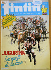 BD Comics Magazine Hebdo Journal Tintin No 42 40e 1985 Jugurtha