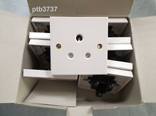 BOX OF TEN 15A UNSWITCHED ROUND PIN SOCKETS STANDARD WHITE BY VIMARK