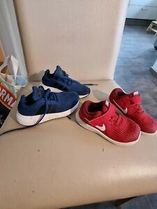 Adidas Nike Turnschuhe Sneaker Jungen Schuhe Gr. 23,5 Und 24