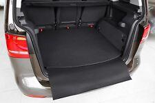 Tapis de Coffre avec Seuil Chargement pour VW Touran 2 5T R-Line Année Fab. 2015