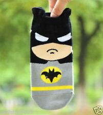 Hot New Fashion Cute Batman Cartoon Cotton Socks Boat socks Short socks ~1 pair~