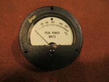 Peak Power Watts Power Gauge Meter 0 - 4000 Model 483A