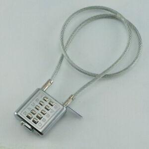 "Gun Lock Universal 10 digit Safety Gun 22"" Steel Cable Combo Lock"