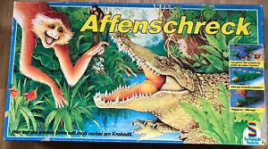 Affenschreck - Schmidt Spiele 1988, am Krokodil vorbei, Brettspiel