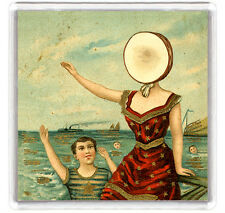 NEUTRAL MILK HOTEL - IN AN AEROPLANE OVER THE SEA LP COVER FRIDGE MAGNET IMAN