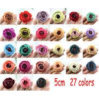 10/20X Artificial Silk Fake Camellia/Rose/Peony Flower Heads Wedding Home Decor