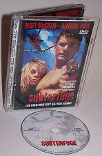 Subterfuge DVD - Hard To Find - Richard Balin, Tony Abatemarco, Krikor Satamian