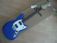 SQUIER  FENDER MUSTANG Bullet imperial BLU  , chitarra elettrica ,guitar ,Nuova!