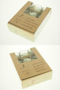 Mini Tealight Votive Party Lights Glass Shot Cup Candles Set Velas Decor Wedding