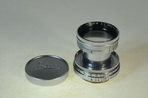 Leitz Leica Summitar 5cm F2 lens in LTM, Exc+, 1951 purple coating