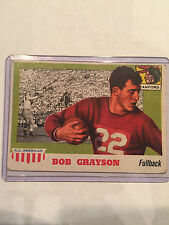 1955 Topps - All American #5 Bob Grayson