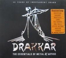 THE ESSENTIALS OF METAL & GOTHIC  - 2 CD - DIGISLEEVE