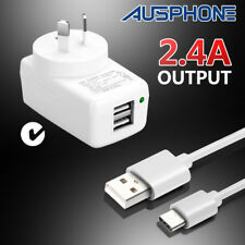 Wall AC Charger Home Travel Type-C USB C Adapter Plug Cable Samsung S9+ S8 Note8