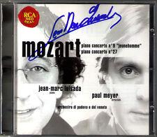 Jean-Marc LUISADA Signiert MOZART Piano Concerto No.9 & 27 PAUL MEYER CD RCA
